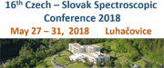 16th Czech - Slovak Spectroscopic Conference 2018