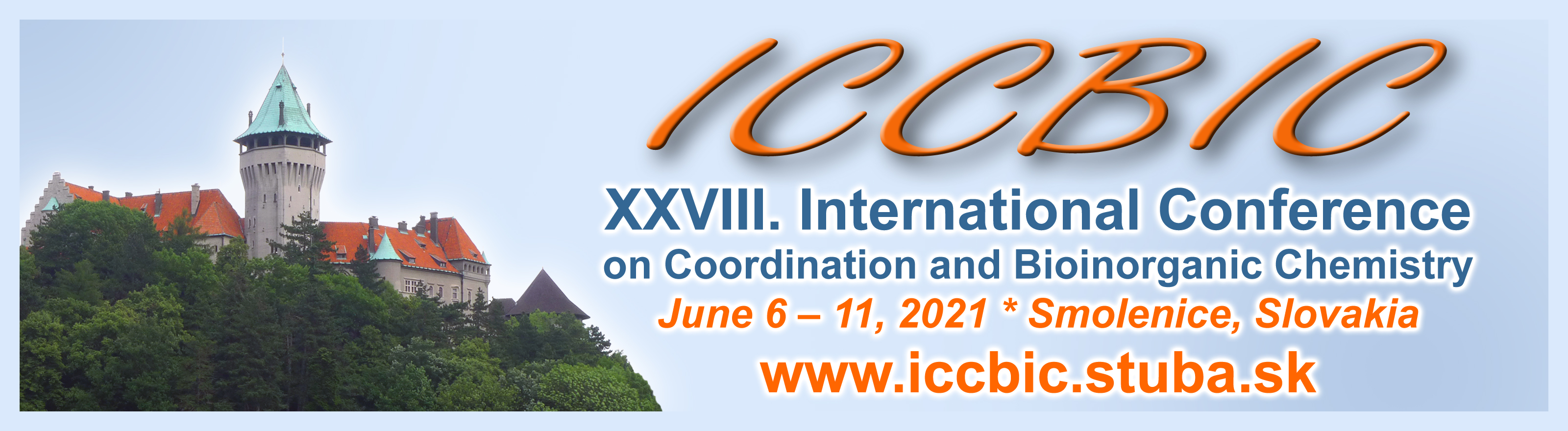 XXVIII. International Conference on Coordination and Bioinorganic Chemistry